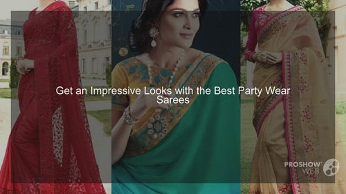 Buy Latest Party Wear Sarees Collection Online