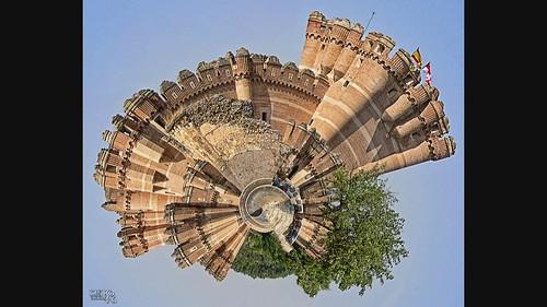 Lo que estaba y dejó de estar, vuelve a estar.- What was and stopped being, is back. Castillo de Coca, Segovia_VeryFast. - Coca Castle, Segovia_VeryFast.