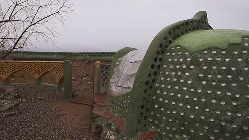 Morning Rooster Call - The Phoenix - Earthship Biotecture - Near Taos, New Mexico