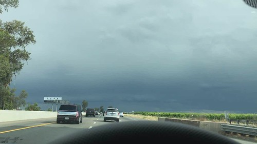 California Experiences Unseasonable Mid-May Thunderstorms (5-19-2019) Video #2