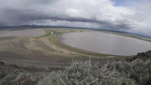 Time-lapse video: Southeast Oregon storm