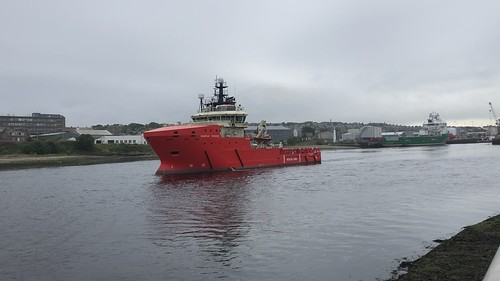 Grampian Freedom - Aberdeen Harbour Scotland - 10th August 2019