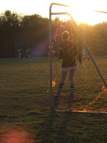 The Goalie's Got Legs