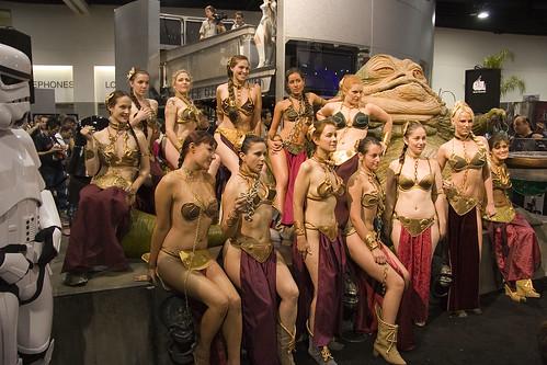 1435 Slave Leias With Jabba