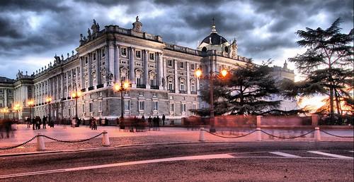 Slow Shutter Royal Madrid