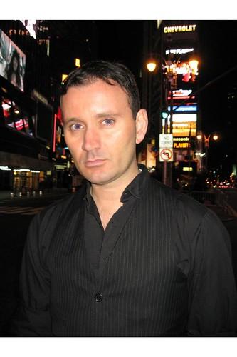 Ryan Janek Wolowski host of Long Island Gay and Lesbian Film Festival Opening Night Gala
