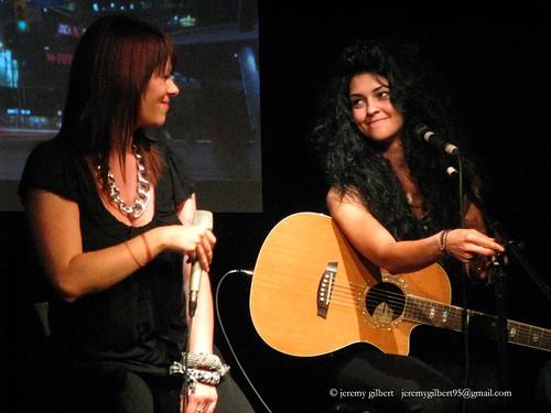 Tara Slone and Hill Kourkoutis at Judecast 1