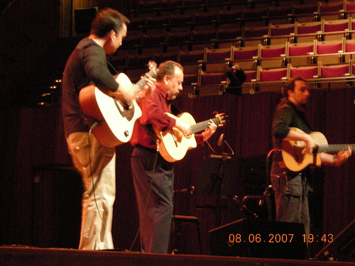 Rodriguez family performing classical guitar