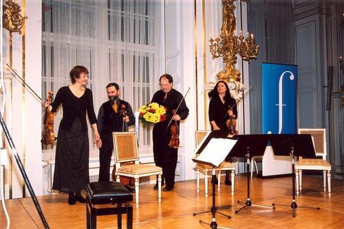 Quatuor Mosaiques na Pražském jaru / at the Prague Spring /13.5.2003/