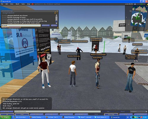 Second Life for the first time