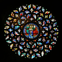 Vitrais, catedral do mar, barcelona