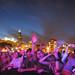 Daft Punk audience at Lollapalooza