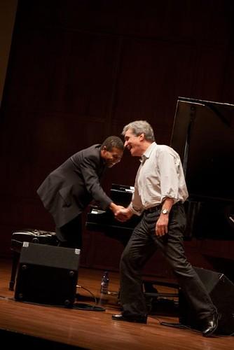Robert Pinsky and Marc Seales