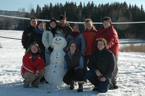 Photo de groupe camp d'hiver 02