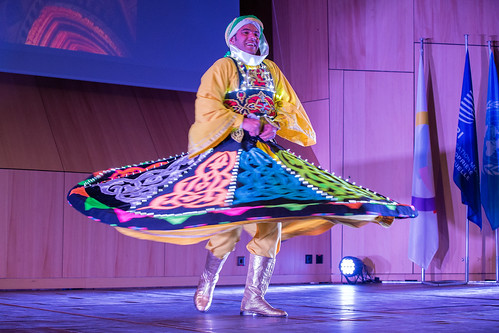Egypt's Reda Folklore Group Performs at Francophonie Day Celebration