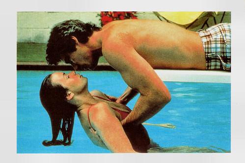 Valerie Kaprisky and Richard Gere in Breathless (1983)