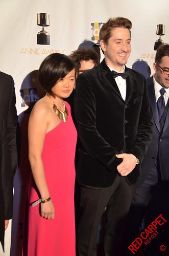 Duke Johnson at the 43rd Annual Annie Awards #ANNIEAwards #AwardSeason DSC_0380