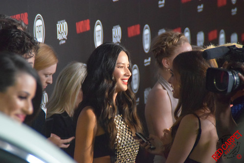 Olivia Munn at Vanity Fair and the Fiat Brand's