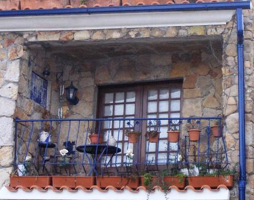 varanda azul