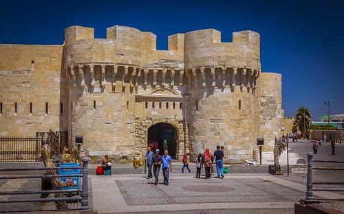 Citadel of Qaitbay Alexandria Egipet