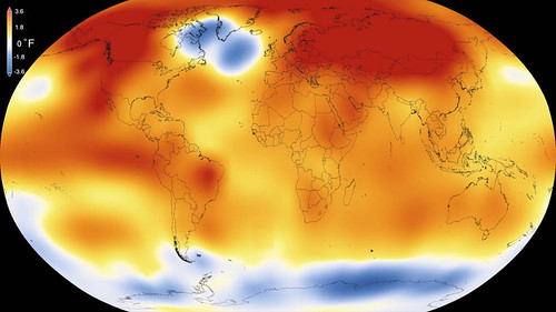 Analyses Reveal Record-Shattering Global Warm Temperatures in 2015