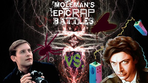 Moleman's Epic Rap Battles #35: Peter Parker Vs. Seth Brundle