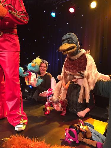 Noah Ginex Puppet Company on the WGN Morning News