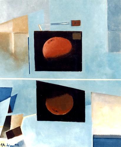 Abstracção  / reflexo