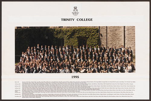 Trinity College, residential students, 1995