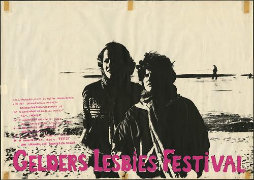 1981 Gelders Lesbies Festival Arnhem