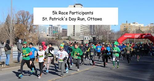 2016 St. Patrick's Day Races - 5k Participants