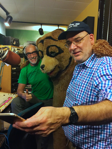 Ken Freedman, Gentle Jim the Bear and Andy Breckman on Seven Second Delay on WFMU Radio
