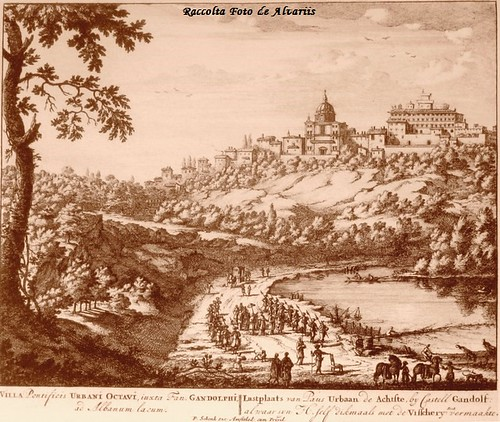 1705 2010 Castelgandolfo Lago e Villa Pontificis Urbani Octavi, di P. Schenck