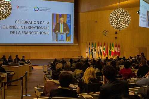 OIF Permanent Representative Opens International Francophone Day Celebration