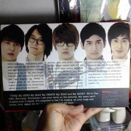 #TVXQ #DBSK #JYJ #RedisTVXQ #PictorialBook #Casseopeia #Bigeast #Alwayskeeponfaith #Junsu #Yoochun #Jaejoong #Changmin #Yunho #FiveGodsFromEast