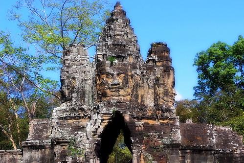 Cambodia - Angkor Thom - South Gate - 6b