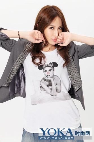Trend leader Elva Hsiao funky mix to steal light Pack