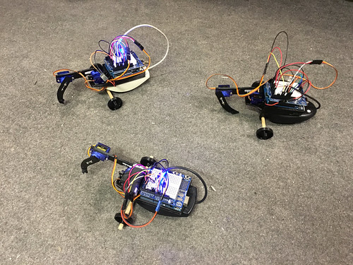 SISYPHUS Robot by mangtronix