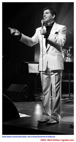 André Veilleux chante Sacha Distel - Avec le Grand Orcherstre de la Mauricie