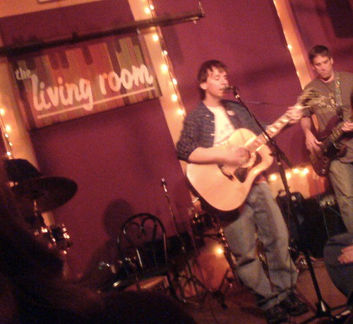 Kenny Young live at the Living Room