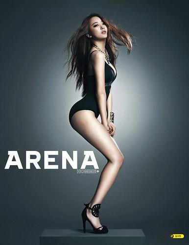 Dal Shabet - Arena Homme Plus Magazine August Issue '13