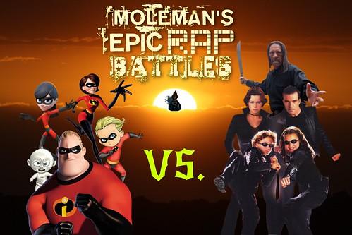 Moleman's Epic Rap Battles #36: Parr Family Vs. Cortez Family