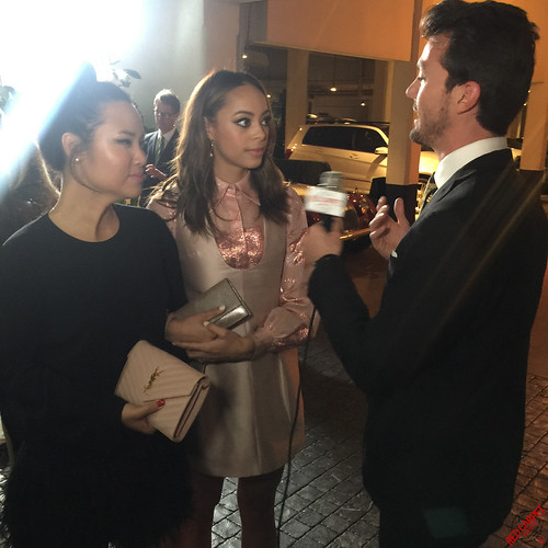 Amber Stevens West at Vanity Fair and the Fiat Brand's