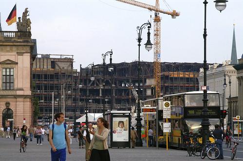 am Palast der Republik (DDR), kurz vor Abriss