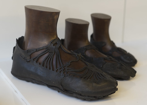 Roman leather shoes from Bar Hill fort