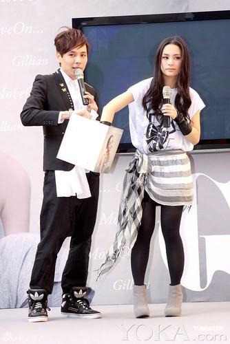 Wear the wrong trousers Elva Hsiao Vicki Zhao elephant legs make a fool of