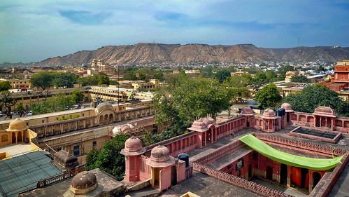 India - Rajasthan - Jaipur - View From Hawa Mahal - 83