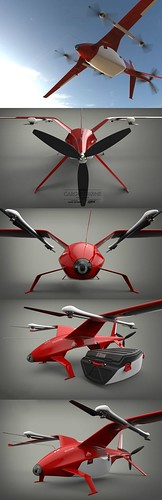 Drone Design : The Zelator-28 takes home first place in the Airbus Cargo Drone Challenge for it…