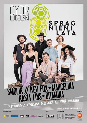Trasa koncertowa Cydr Lubelski Spragnieni Lata ogłasza tegoroczny skład