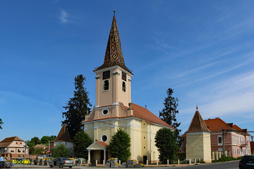 Nocrich: Biserica evanghelică fortificată